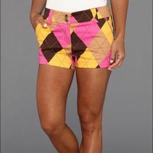 Loudmouth women's mini golf shorts NWT
